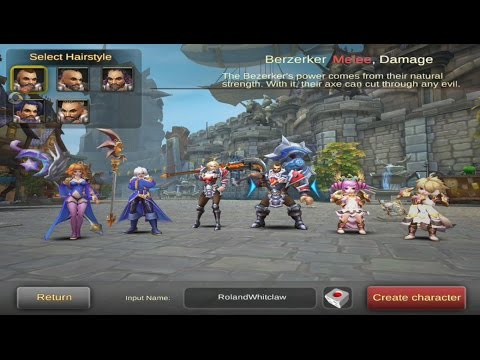Dawn Of The Immortals Gameplay - Android   Ios App Game video
