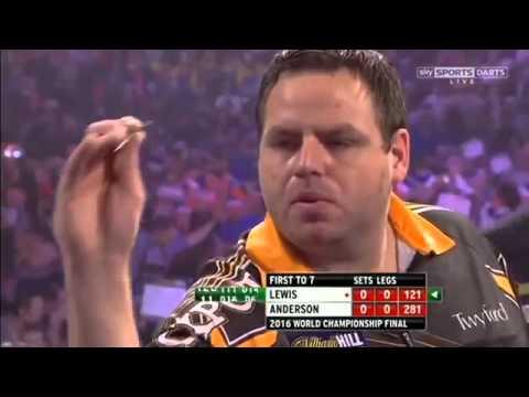2016 Чемпионат мира по дартсу Гарри Андерсон против Льюисса.Финал