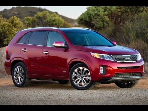 2014 Kia Sorento LX Start Up and Review 2.4 L 4-Cylinder