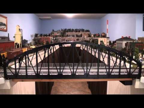 O-gauge layout 1
