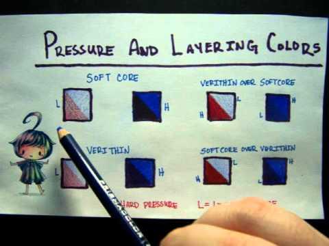 Prismacolor Pencils Tips and Tricks - Part 1
