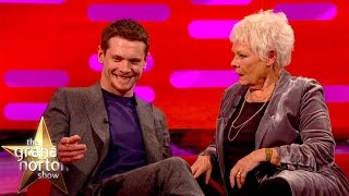 Jack O'Connell's Bum Tattoo Shocks Dame Judi Dench - The Graham Norton Show