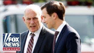 Media focus on tensions between John Kelly and Jared Kushner