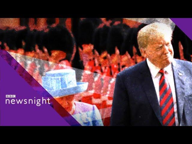 Trump39s UK state visit Should the president address parliament? - BBC Newsnight