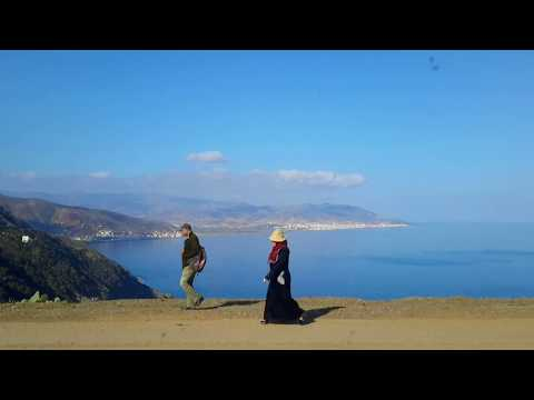 Marokko Mittelmeer Panorama-Küstenstraße Wohnmobil