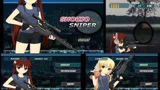 Shoujo Sniper - anime shooter --- GAMEPLAY ANDROID - FaceCAM
