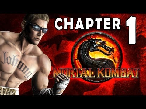 Mortal Kombat 9 - Story Mode / Chapter 01: Johnny Cage 1080P Gameplay / Walkthrough