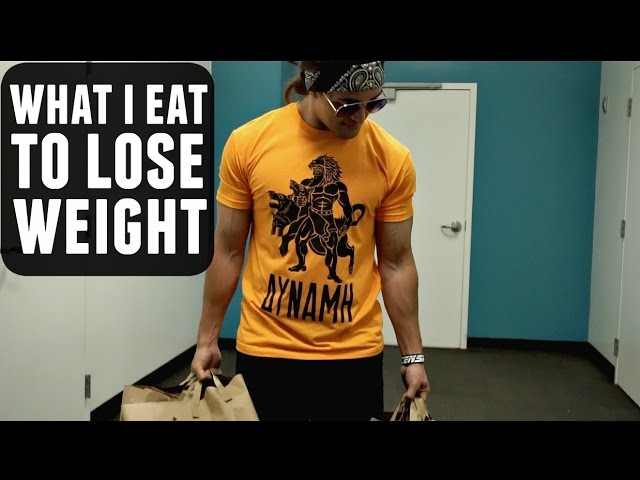 What I Actually Eat To Lose Weight ft. Jerzmaine Gurcia