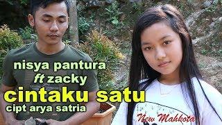 DUET PALING SAHDU ''cintaku satu'' karya ARYA SATRIA \\ NISYA ft ZACKY \\ new mahkota latihan