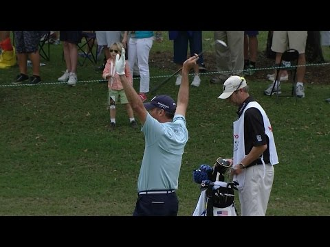 Matt Kuchar's excellent eagle hole out at Hero