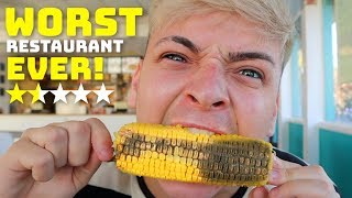 Eating At The Worst Reviewed Restaurant In My City!  (1 STAR)