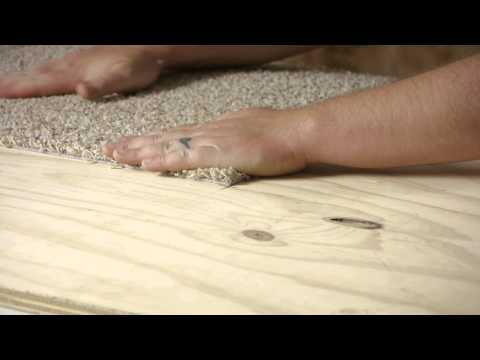 How to Install Peel & Stick Carpet Tiles Easily : Flooring Help