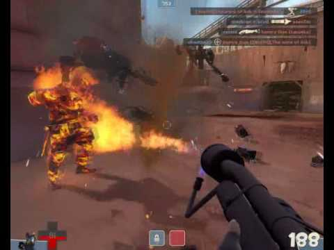 TF2 - How to play the Pyro