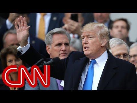Trump speaks at GOP tax bill celebration (full)