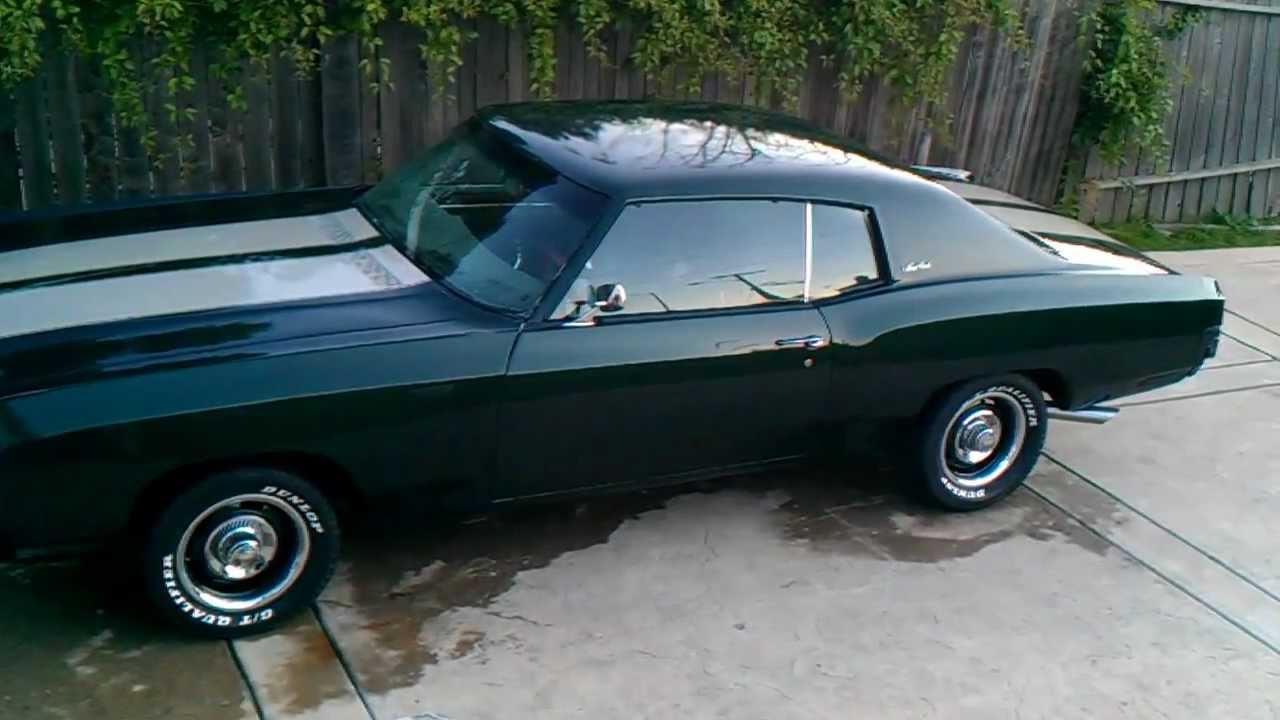 Ss Monte Carlo >> 1970 Chevy Monte Carlo...back from paint shop - YouTube