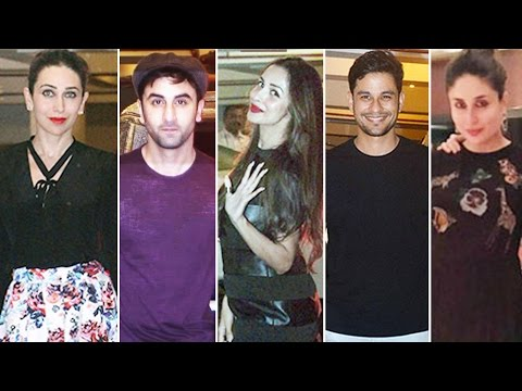 Kareena Kapoor's BIRTHDAY Bash | Saif Ali Khan | Malaika Arora | Ranbir Kapoor | Karisma Kapoor