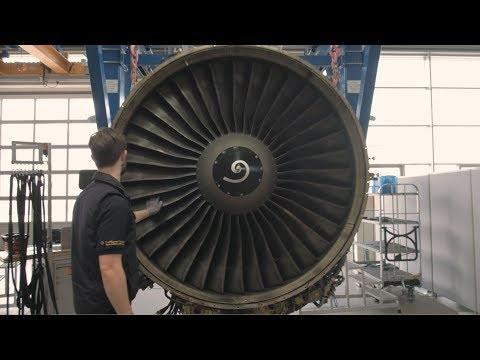 Triebwerksüberholung - Engine Services bei Lufthansa Technik