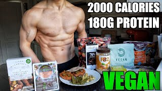 Vegan Full Day of Eating 2000 Calories | High Protein Low Calorie Meals...