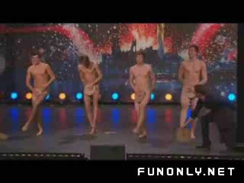 naked boy dancers in got talent show-OneZats Creations