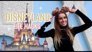 Disneyland Life Hacks you NEED to know! HOW TO DO DISNEY LIKE A PRO!