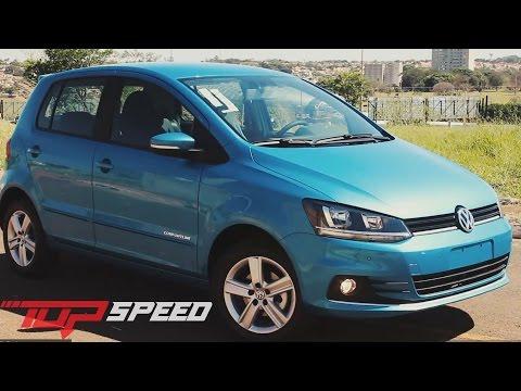 Avaliação Volkswagen Novo Fox Comfortline 2015 (Canal Top Speed)