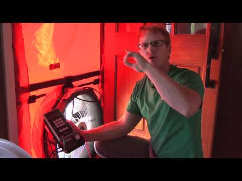 Solar City, Home Energy Audit - Blower door