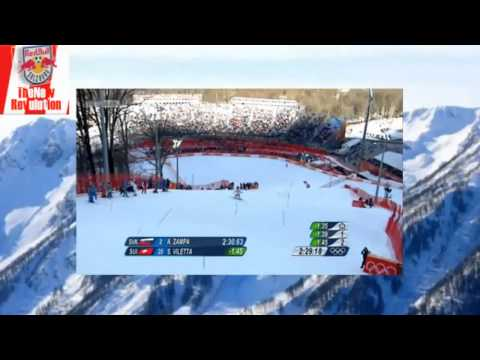 Sochi 2014 | Sandro Viletta - Olympia Super-Kombinations-Slalom Siegesfahrt