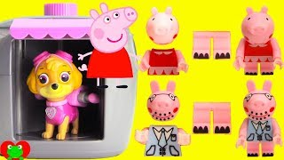 Peppa Pig Find and Build in Paw Patrol Skye Magical Pup House