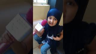 Hasbi Rabbi by cute little Amaira....