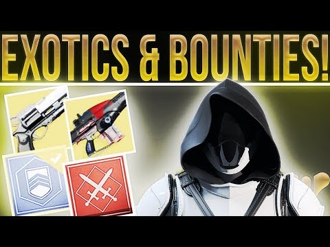 Destiny 2. RETURNING EXOTICS! New And Old Exotics, Bounties, Hidden Quests, Reveal Streams & More!