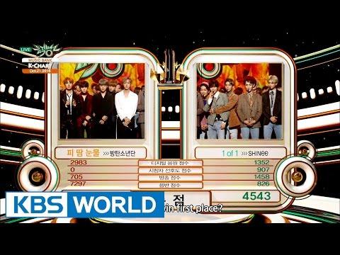 [Music Bank K-Chart] 3rd Week of October - BTS vs SHINee (2016.10.21)