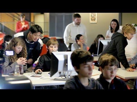 The Evergreen School Visits Valve - 09/16/2011