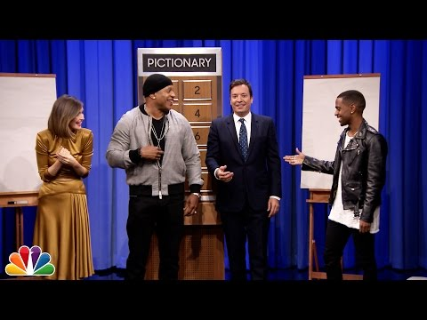 Pictionary with LL Cool J Rose Byrne and Big Sean