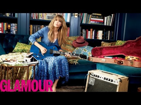 Taylor Swift on Feeling 22 & Living Life with No Regrets - Glamour Cover Star