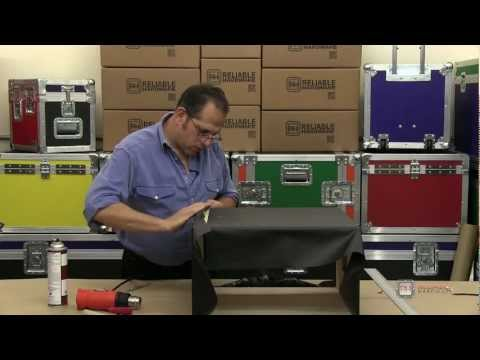 Wrapping with Tolex - ReliableHardware.com