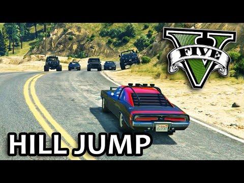 GTA V - Fast and Furious 7 Hill Jump Scene