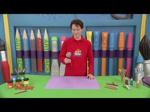 Art Attack – Decorarea ghiveciului. Doar la Disney Junior!