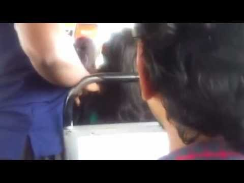 24 Year Old Kerala Girl In Bus video