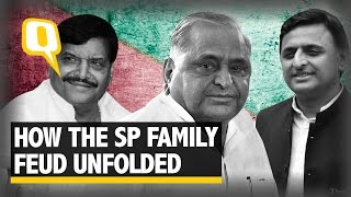 The Quint: SP Expulsion Drama: Who Blinked First, Akhilesh Or Daddy Mulayam?