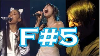 20 FEATURES OF F#5 HIGH NOTE! (raspy, growled, strain, etc.)