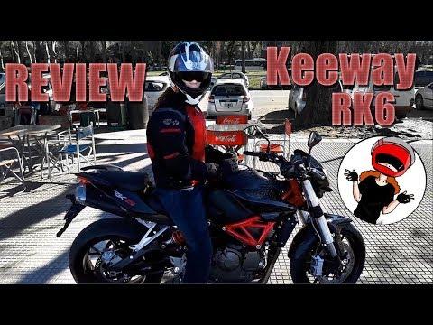 Review Keeway Rk6
