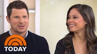 Nick And Vanessa Lachey Talk About Their 3 Kids (And Get Quizzed By Al!)   TODAY