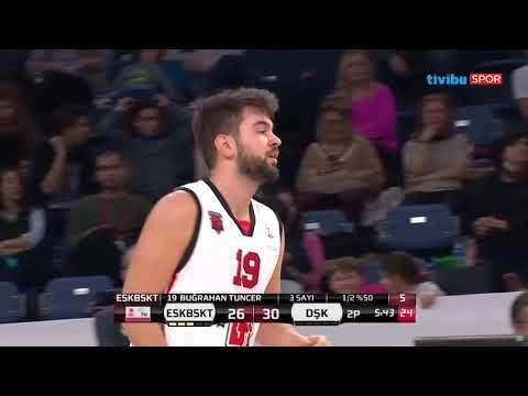 PTT Türkiye Kupası I Eskişehir Basket 59-75  Darüşşafaka Özet