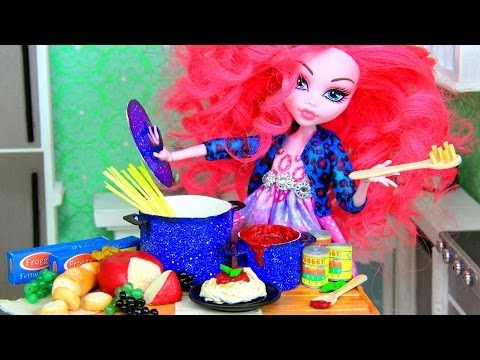 How to Make Doll Food : Pasta