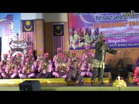 Dikir Barat Peringkat Kebangsaan 2012 | Kumpulan Sri Istana, Giat Mara Tumpat. video
