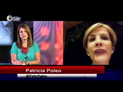 Nitu Pérez Osuna e Iván Ballesteros con Patricia Poleo en Cuéntamelo Todo