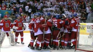 Czech &#8211; USA 4:0 IIHF 2011 Jagrs Hat Trick