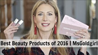 Best of 2016 | Beauty Products | MsGoldgirl