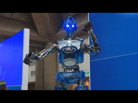Ford's Interactive Robot Hank