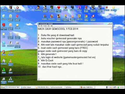 Cheat G-cash Gemscool 20 Maret 2014